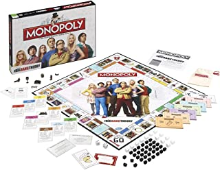 Winning Moves Games The Big Bang Theory Monopoly Board Game