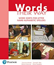Words Their Way: Word Sorts for Letter Name – Alphabetic Spellers (2-downloads) PDF