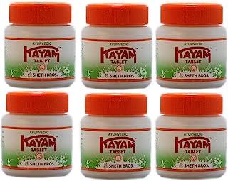Ayurvedic Kayam 30 Tabletten x 6 Pakketten