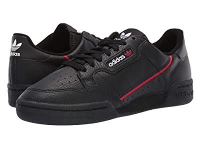 adidas Originals Continental 80 (Core Black/Scarlet/Collegiate Navy) Men