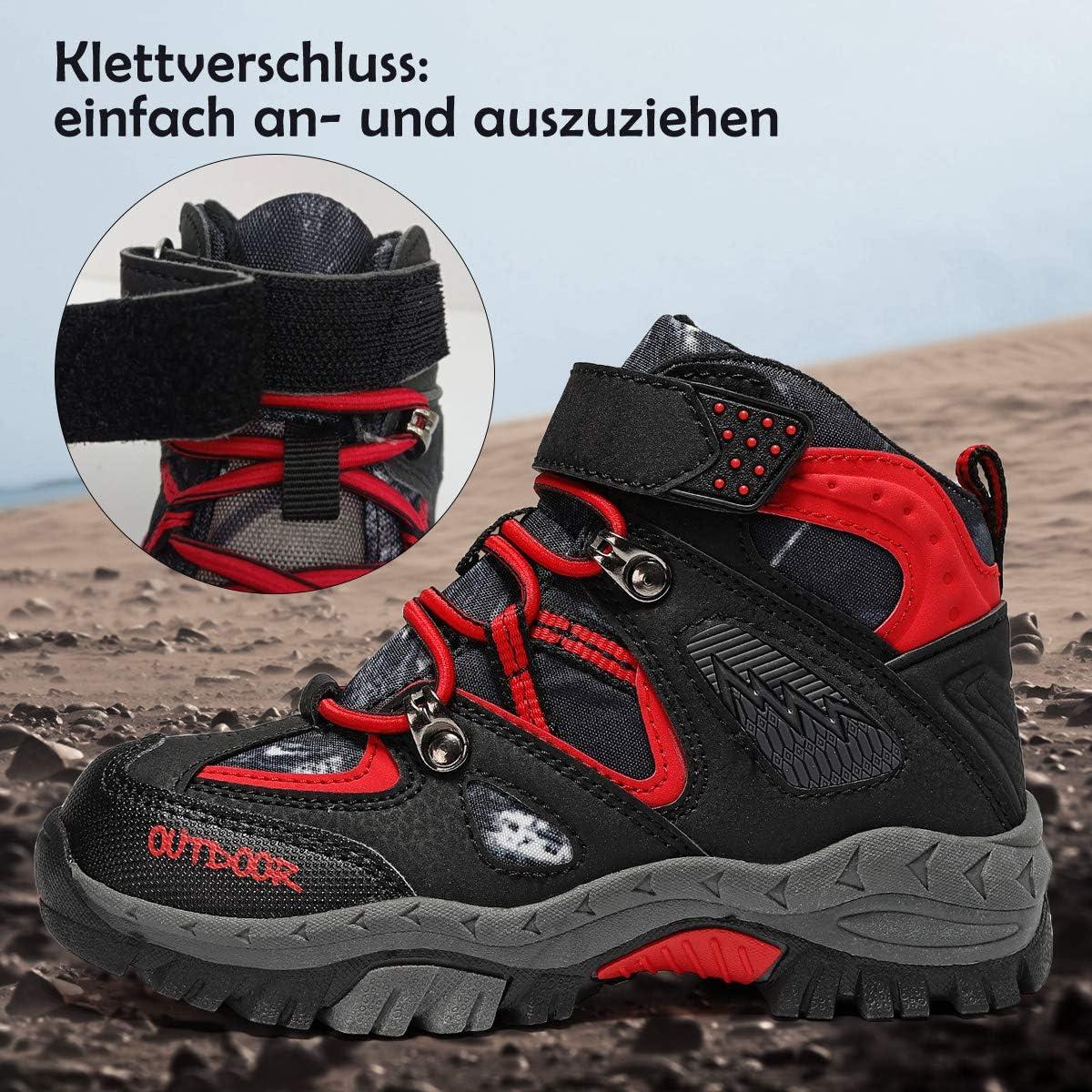 VITUOFLY scarpe da trekking e da trekking da trekking e trekking Scarpe da trekking unisex per bambini da ragazza