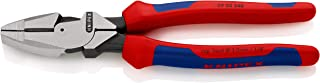 """Knipex 09 02 240 Lineman's Pliers 9,45"""" with soft handle"""