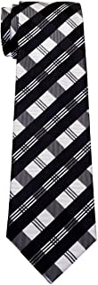 Tartan Plaid Patterns Woven Boy's Tie - 8-10 years - Various Colors