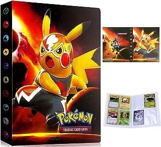 Album voor Pokemon Kaarten Houder Folder Binder Boek 30 pagina's 240 Kaarten Capaciteit (Grote film PIKAQIU)