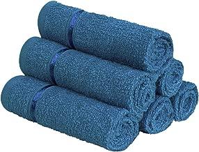 Story@Home 6 Piece 450 GSM Cotton Face Towel Set - Navy