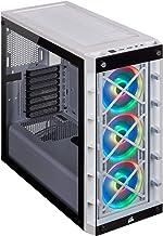 Corsair iCUE 465X RGB Mid-Tower ATX Smart Case, White (CC-9011189-WW)
