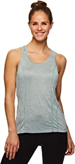 Reebok Women's Running & Workout Tank Top - Dynamic Fitted Performance Racerback Active Gym Shirt