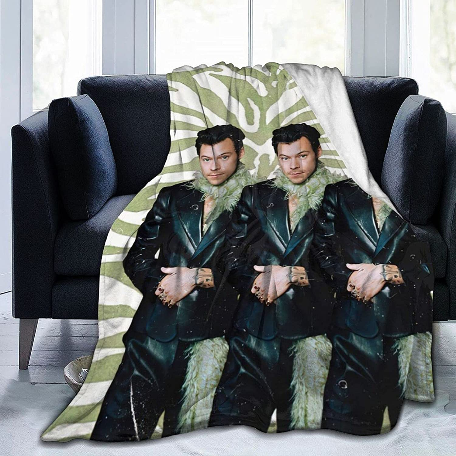 Harry-Styles Ultra-Soft Micro Fleece Chicago Mall Blanket Digit Soft and Seattle Mall Warm