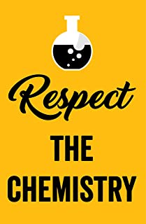Damdekoli Respect The Chemistry Poster, 11x17 Inches, Scientist Wall Art Print, Elements Periodic Table, Classroom, Biology, Science Education
