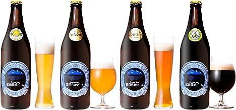 猪苗代地ビール 500ml 4本 セット (ピルスナー・ヴァイツェン・ゴールデンエンジェル・ラオホ)