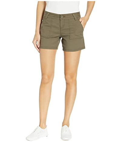 Prana Tess Shorts 5 (Slate Green) Women