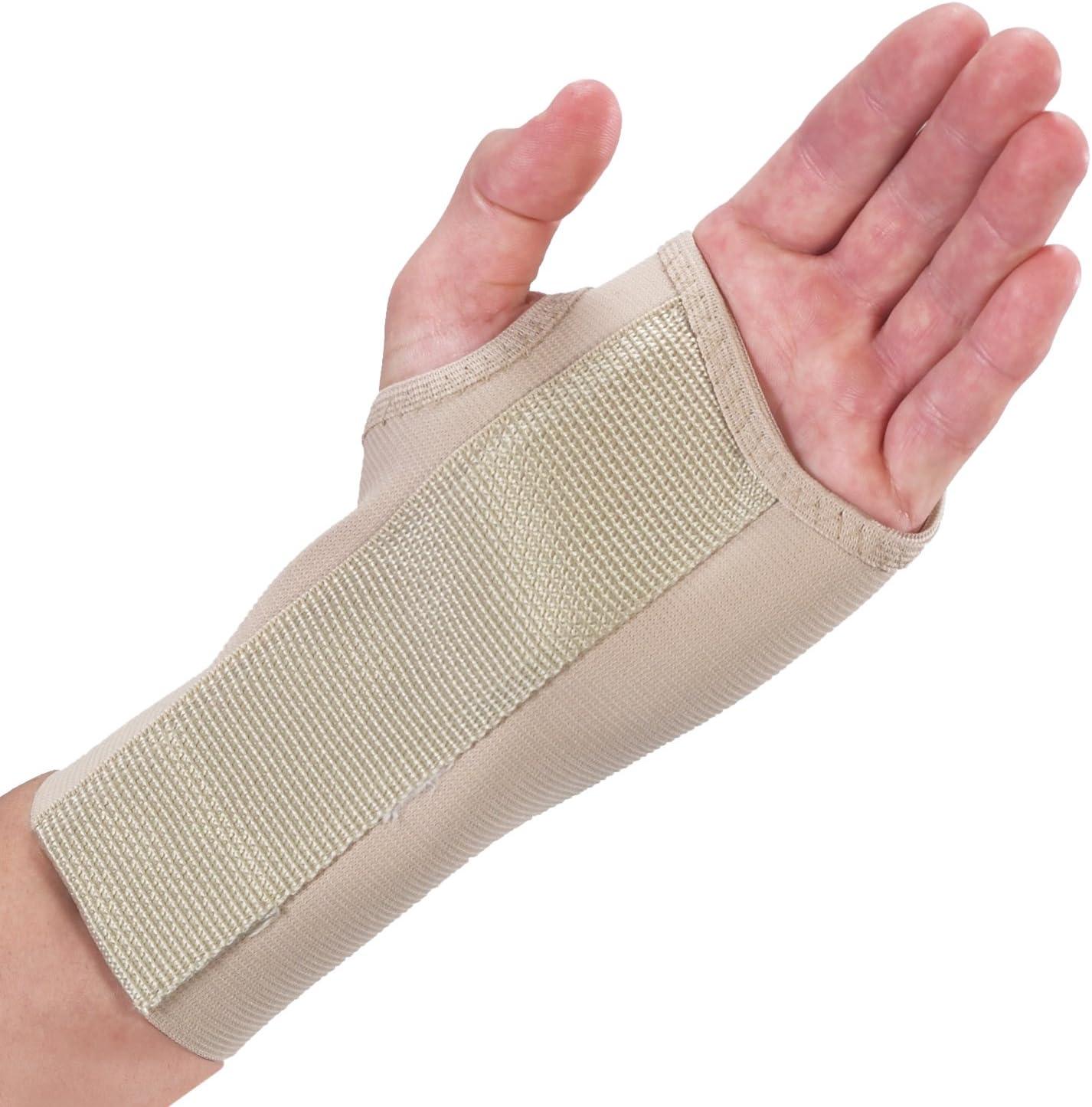 2021 Bilt-Rite Mastex Health 7 Inch Splint Large Left Quantity limited Beige Wrist