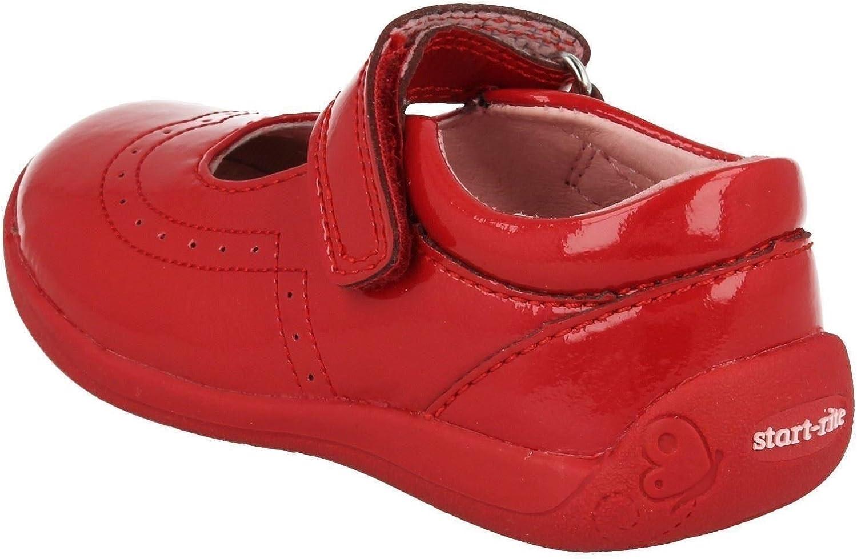 Start-rite SR Supersoft Alice Pale Pink Patent Girls Shoe