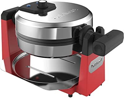 Cuisinart WAF-F10R Maker Waffle Iron, Single, Red