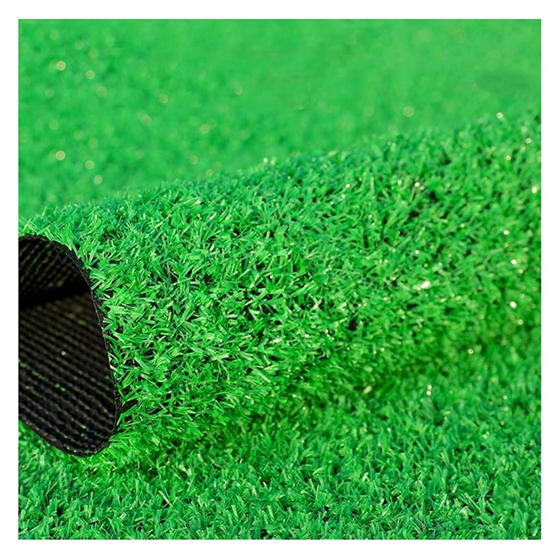 有効威する気球YNFNGXU 人工芝10ミリメートル杭の高さ普通の合成芝生庭ペット犬の芝生の装飾2×1センチ (Size : 2x3m)