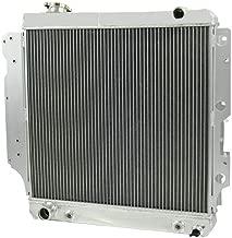 OzCoolingParts 87-06 Jeep Wrangler Radiator, Pro 3 Row Core Full Aluminum Radiator for Jeep Wrangler YJ TJ 1987-2006 1988 1989 1990 04 05 2.4L 2.5L 4.0L 4.2L, L4 L6