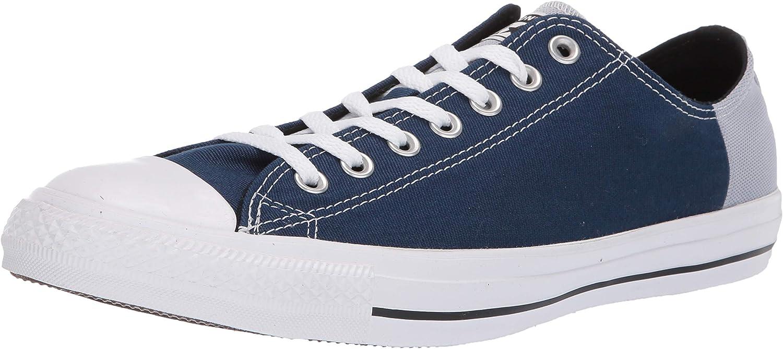 Converse Mens Unisex Chuck Taylor All Star colorblock Low Top Sneaker Sneaker