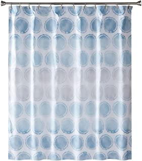 SKL Home by Saturday Knight Ltd. Swag Circles Fabric Shower Curtain, Blue