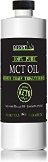 GreenIVe - MCT Oil - 100% Pure Medium Chain Triglycerides - Exclusively on Amazon (16 Ounce)