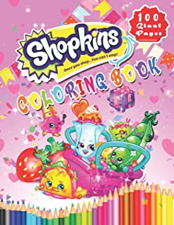 Shopkins Coloring Book: A Gift To Help Your Child Be More Creative