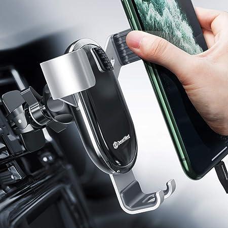 Handyhalterung Auto Lüftung Autohalterung Handy Halterung Schwerkraft Kfz Handy Halter Für Auto Kompatibel Mit Iphone 12
