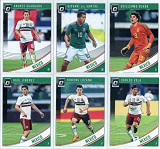 41d6e2930ce 2019 Donruss Optic Soccer Mexico Veteran Team Set of 6 Cards  Carlos Vela(