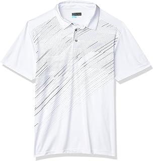 پیراهن یقه دار چاپی نامتقارن آستین کوتاه مردانه PGA TOUR