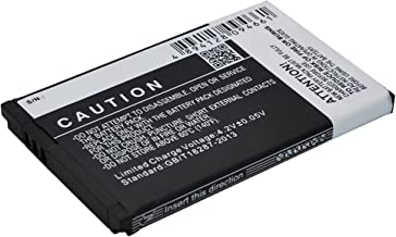 900mAh Battery Replacement for Samsung GT-E2510, GT-E2550, GT-E2550 Monte, GT-M3510, GT-M3510 Beat B, P/N AB403450BA, AB403450BC, AB403450BE, AB403450BEC, AB403450BU