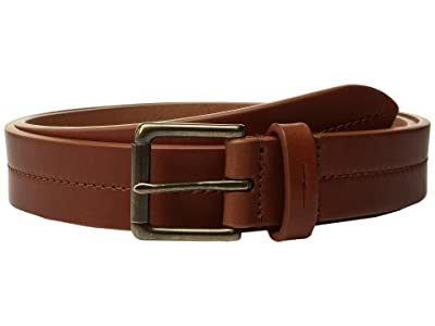 Shinola Detroit Bridle 1 1/4 Center Stitch Roller Belt (Bourbon) Men