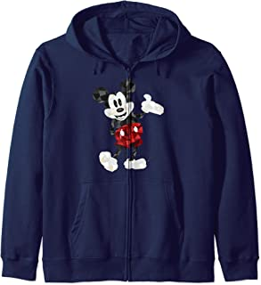 Disney Mickey And Friends Mickey Mouse Polygon Portrait Sweat à Capuche