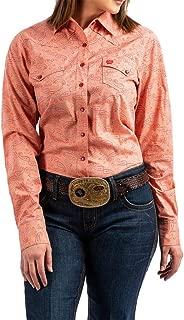 coral western shirt