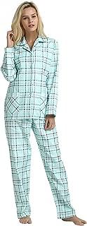 Comfy Pajamas for Women 2-Piece Warm and Cozy Flannel Pj...