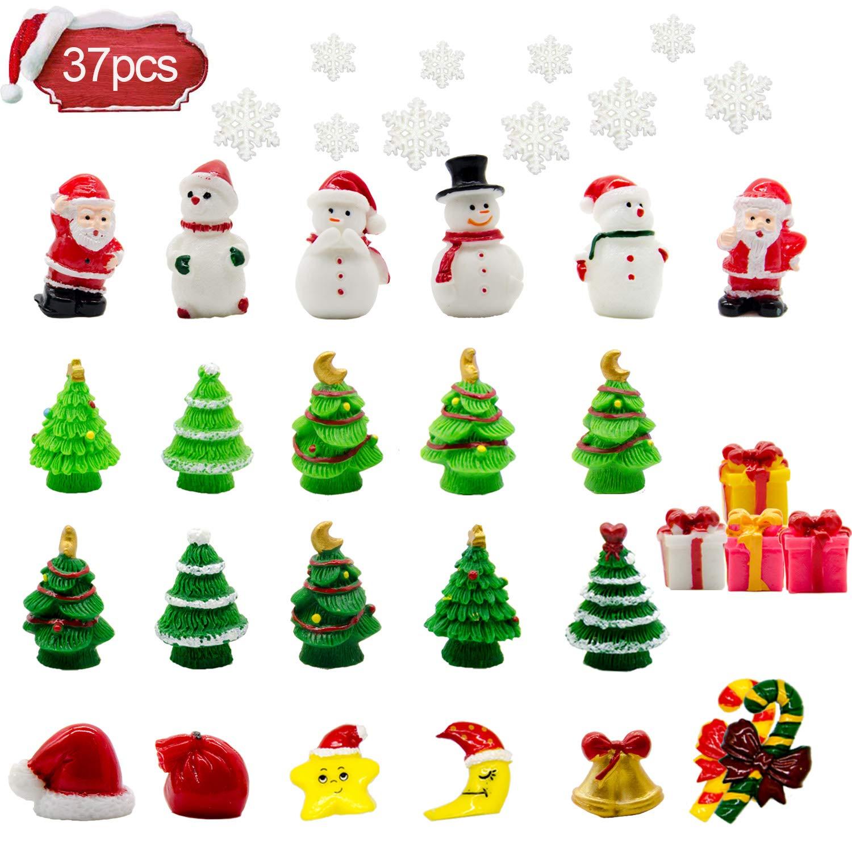 Iceyyyy Mini Resin Christmas Ornaments