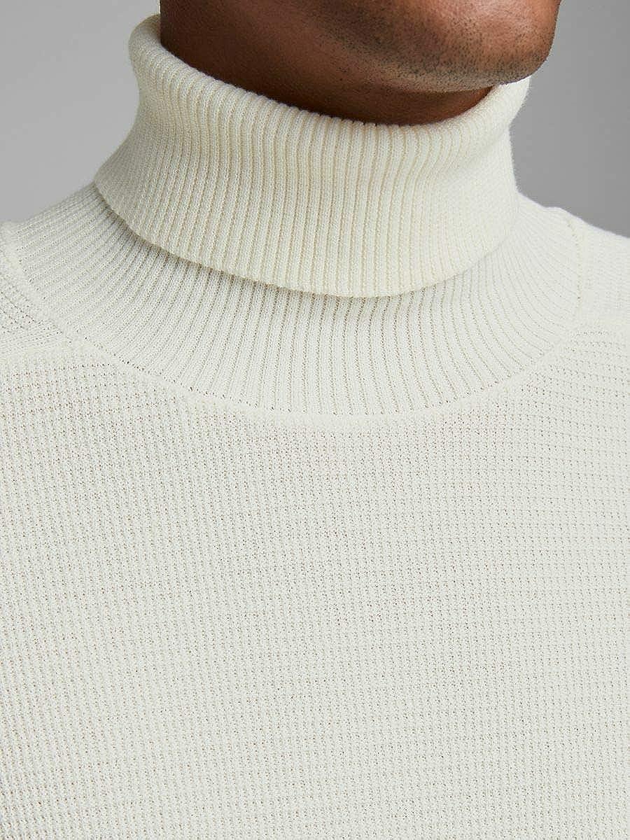 JACK /& JONES Jprblamoniter Knit Roll Neck Maglione Uomo