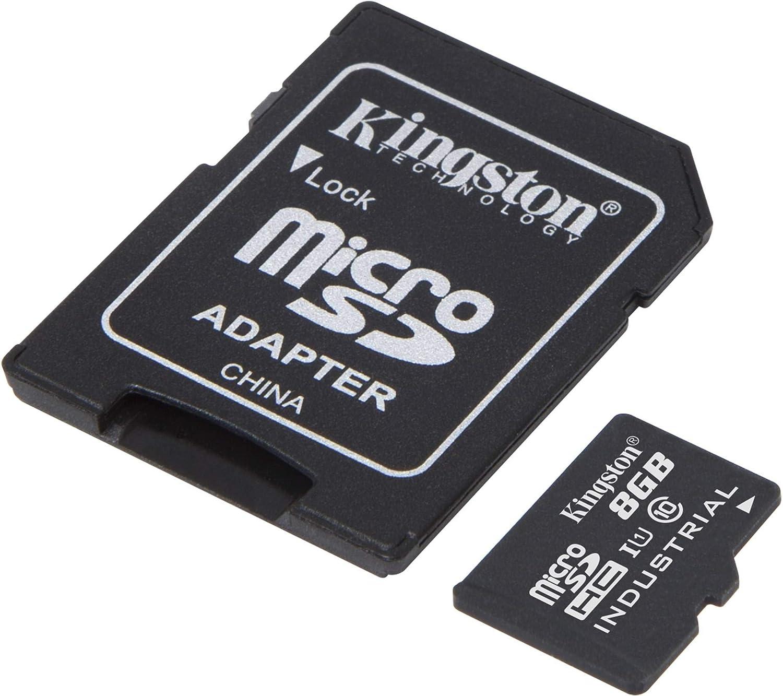 Kingston Industrial Grade 8GB Max 86% OFF ZTE N9560 Verified MicroSDHC Ranking TOP13 Card