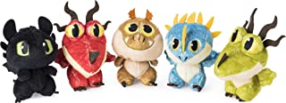 Dragons Dreamworks Baby 3-inch Plush, Cute Collectible Plush Dragon in Egg, for Kids Aged 4 and Up (Styles Vary)