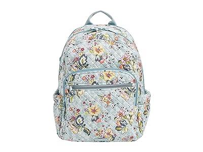 Vera Bradley Campus Backpack (Floating Garden) Backpack Bags
