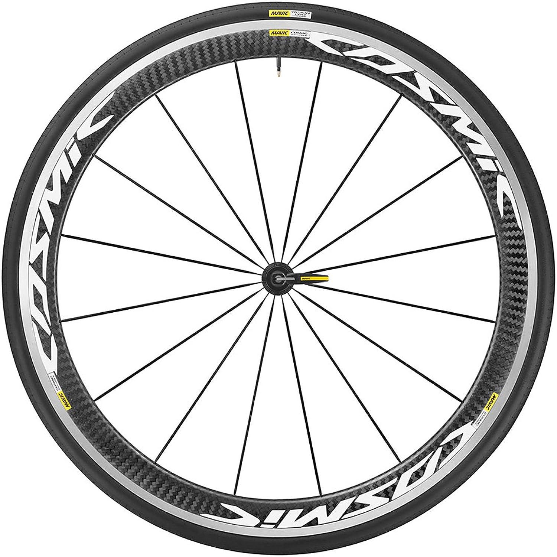 Mavic Cosmic Pro Carbon 700x25c Clincher WTS Front Wheel White Black