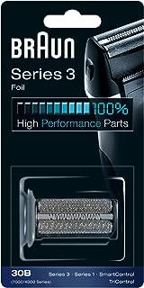 Braun 30B Replacement Foil & Cutter Cassette Multi Black BLS Combi Pack