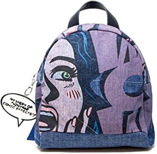 Luxury Fashion | Desigual Womens 19WAKD01BLUE Blue Backpack | Fall Winter 19