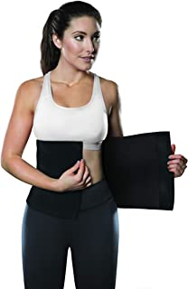 TKO Waist Trimmer - Adjustable Ab Slimmer Belt to Help You Shed The Excess Water Weight and Tone Your Mid Section