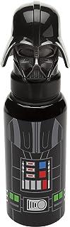 Zak Vaso de aluminio con figura, color Negro