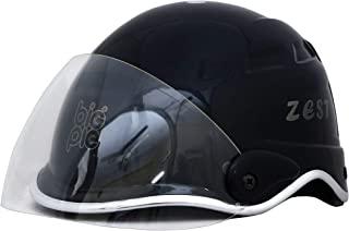 BIGPIE ZEST All Purpose Safety Helmet with Visor (Black)