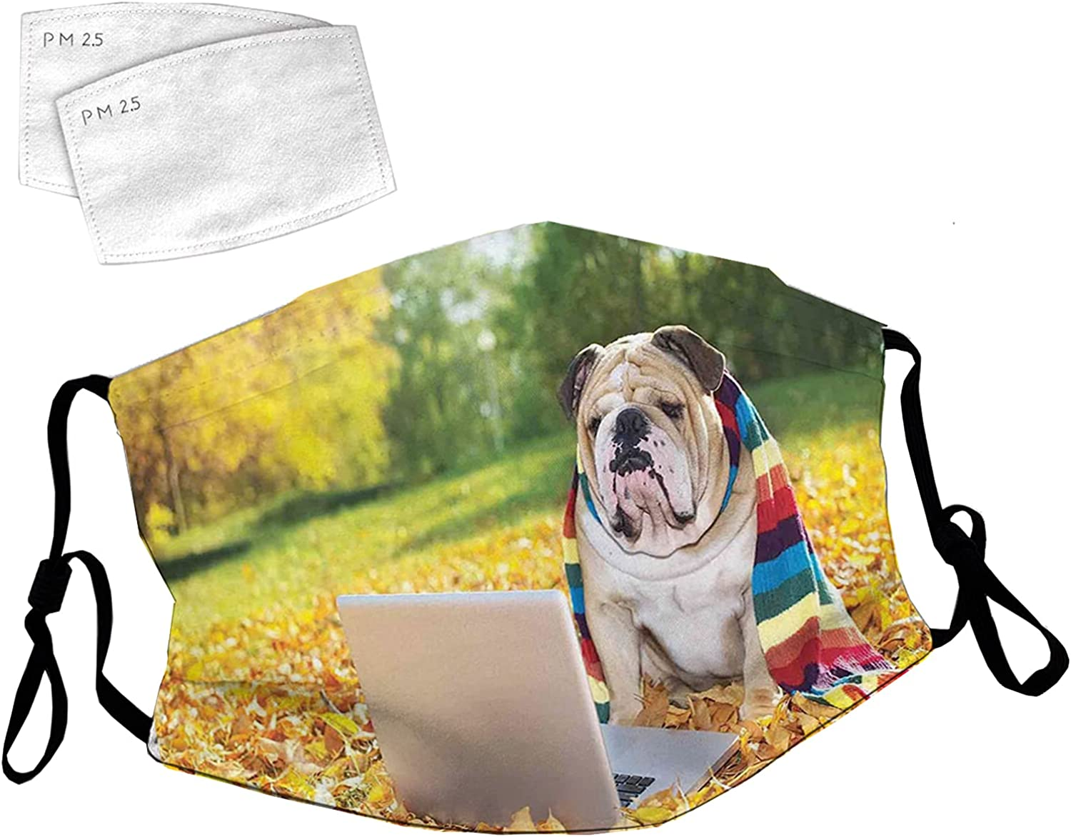 Reusable Face Mask with Adjustable Ear wit Park Dog Weekly update in Loops Large special price !! The