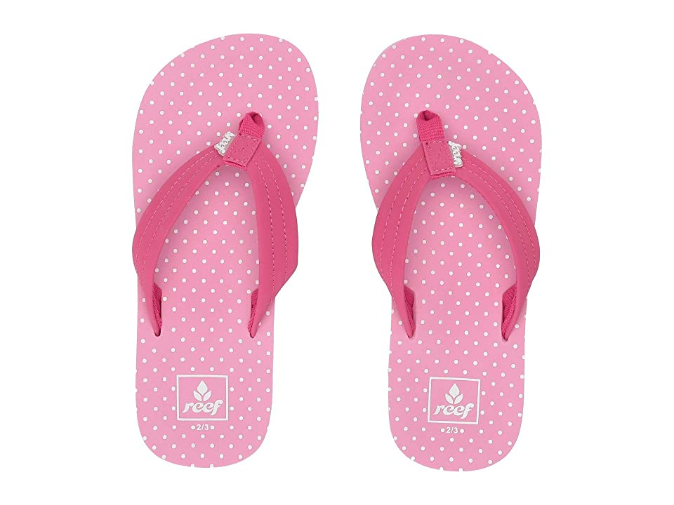 Reef Kids Ahi (Little Kid/Big Kid) (Polka Dot) Girls Shoes