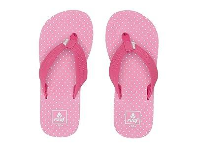 Reef Kids Ahi (Little Kid/Big Kid) (Polka Dot) Girls Shoes