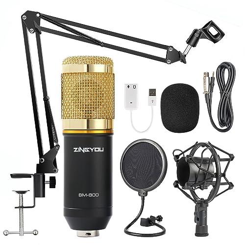 0d3461ddf99e ZINGYOU Condenser Microphone Bundle