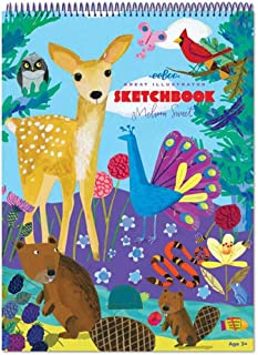 eeBoo Sketch Book Drawing Pad, Life on Earth