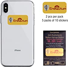 EMF Protection Cell Phone Sticker, EMR Blocker Neutralizer Device, Anti Radiation Protector Shield for All Mobile Phones, Laptop, Computer, WiFi, Router and Other Electronic Devices(5 Pack)