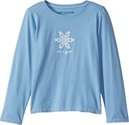 Toddler Long Sleeve Tee Life is Good Powder Blue I Dig Everything